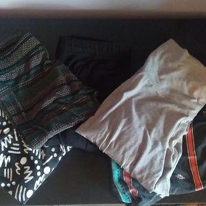 Bundle of leggings and yoga pants